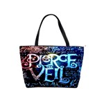 Pierce The Veil Quote Galaxy Nebula Shoulder Handbags