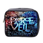 Pierce The Veil Quote Galaxy Nebula Mini Toiletries Bag 2-Side