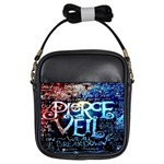 Pierce The Veil Quote Galaxy Nebula Girls Sling Bags