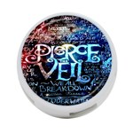 Pierce The Veil Quote Galaxy Nebula 4-Port USB Hub (Two Sides)