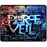 Pierce The Veil Quote Galaxy Nebula Fleece Blanket (Medium)