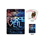 Pierce The Veil Quote Galaxy Nebula Playing Cards (Mini)