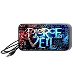 Pierce The Veil Quote Galaxy Nebula Portable Speaker (Black)