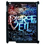 Pierce The Veil Quote Galaxy Nebula Apple iPad 2 Case (Black)