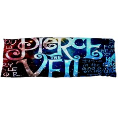Pierce The Veil Quote Galaxy Nebula Body Pillow Case Dakimakura (two Sides) by Onesevenart