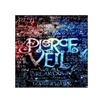Pierce The Veil Quote Galaxy Nebula Acrylic Tangram Puzzle (4  x 4 )