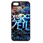 Pierce The Veil Quote Galaxy Nebula Apple iPhone 5 Seamless Case (Black)