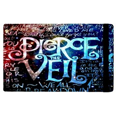 Pierce The Veil Quote Galaxy Nebula Apple Ipad 3/4 Flip Case by Onesevenart
