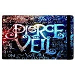 Pierce The Veil Quote Galaxy Nebula Apple iPad 3/4 Flip Case