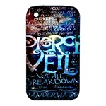 Pierce The Veil Quote Galaxy Nebula Apple iPhone 3G/3GS Hardshell Case (PC+Silicone)