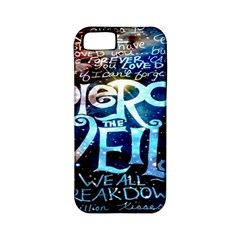 Pierce The Veil Quote Galaxy Nebula Apple Iphone 5 Classic Hardshell Case (pc+silicone) by Onesevenart