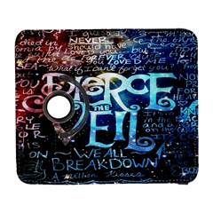 Pierce The Veil Quote Galaxy Nebula Samsung Galaxy S  Iii Flip 360 Case by Onesevenart