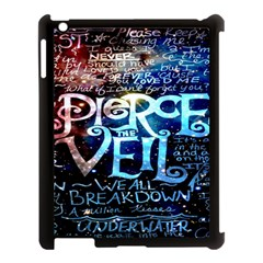 Pierce The Veil Quote Galaxy Nebula Apple Ipad 3/4 Case (black) by Onesevenart