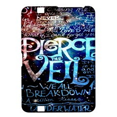 Pierce The Veil Quote Galaxy Nebula Kindle Fire Hd 8 9  by Onesevenart