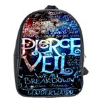 Pierce The Veil Quote Galaxy Nebula School Bags (XL)
