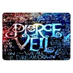 Pierce The Veil Quote Galaxy Nebula Samsung Galaxy Tab 8.9  P7300 Flip Case