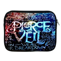 Pierce The Veil Quote Galaxy Nebula Apple Ipad 2/3/4 Zipper Cases by Onesevenart