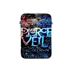 Pierce The Veil Quote Galaxy Nebula Apple Ipad Mini Protective Soft Cases by Onesevenart
