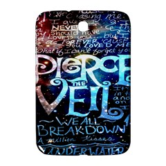 Pierce The Veil Quote Galaxy Nebula Samsung Galaxy Note 8 0 N5100 Hardshell Case  by Onesevenart