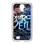 Pierce The Veil Quote Galaxy Nebula Samsung GALAXY S4 I9500/ I9505 Case (White)