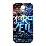 Pierce The Veil Quote Galaxy Nebula Samsung Galaxy S4 I9500/I9505  Hardshell Back Case