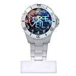 Pierce The Veil Quote Galaxy Nebula Plastic Nurses Watch