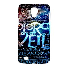 Pierce The Veil Quote Galaxy Nebula Galaxy S4 Active by Onesevenart