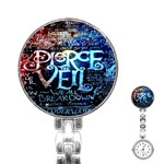 Pierce The Veil Quote Galaxy Nebula Stainless Steel Nurses Watch