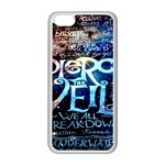 Pierce The Veil Quote Galaxy Nebula Apple iPhone 5C Seamless Case (White)