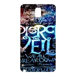 Pierce The Veil Quote Galaxy Nebula Samsung Galaxy Note 3 N9005 Hardshell Back Case