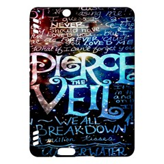 Pierce The Veil Quote Galaxy Nebula Kindle Fire Hdx Hardshell Case by Onesevenart
