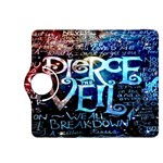 Pierce The Veil Quote Galaxy Nebula Kindle Fire HDX 8.9  Flip 360 Case