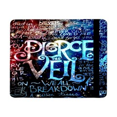 Pierce The Veil Quote Galaxy Nebula Samsung Galaxy Tab Pro 8 4  Flip Case by Onesevenart