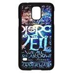 Pierce The Veil Quote Galaxy Nebula Samsung Galaxy S5 Case (Black)