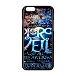 Pierce The Veil Quote Galaxy Nebula Apple iPhone 6/6S Black Enamel Case