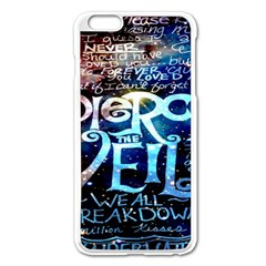Pierce The Veil Quote Galaxy Nebula Apple Iphone 6 Plus/6s Plus Enamel White Case by Onesevenart