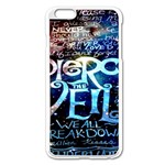 Pierce The Veil Quote Galaxy Nebula Apple iPhone 6 Plus/6S Plus Enamel White Case