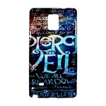 Pierce The Veil Quote Galaxy Nebula Samsung Galaxy Note 4 Hardshell Case