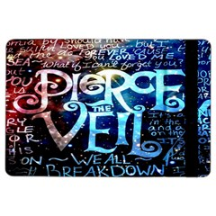 Pierce The Veil Quote Galaxy Nebula Ipad Air 2 Flip by Onesevenart