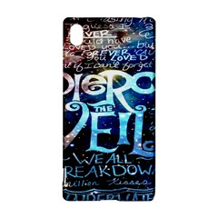 Pierce The Veil Quote Galaxy Nebula Sony Xperia Z3+ by Onesevenart