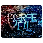 Pierce The Veil Quote Galaxy Nebula Jigsaw Puzzle Photo Stand (Rectangular)