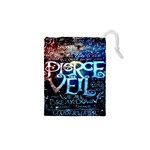 Pierce The Veil Quote Galaxy Nebula Drawstring Pouches (XS)