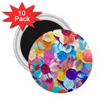 Anemones 2.25  Magnets (10 pack)  Front