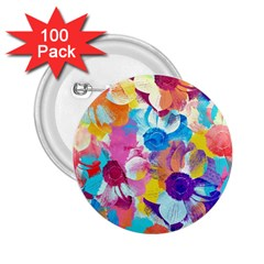 Anemones 2.25  Buttons (100 pack)