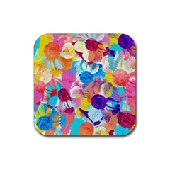 Anemones Rubber Coaster (square)  by DanaeStudio