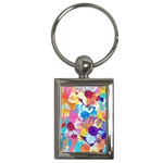 Anemones Key Chains (Rectangle)  Front