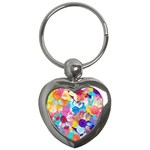 Anemones Key Chains (Heart)  Front