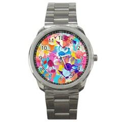 Anemones Sport Metal Watch