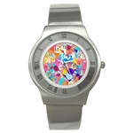 Anemones Stainless Steel Watch Front