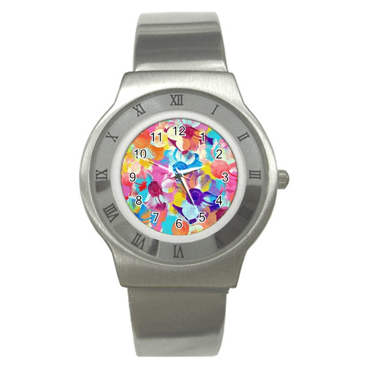 Anemones Stainless Steel Watch